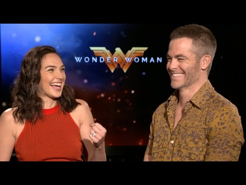 WONDER WOMAN interviews - Gal Gadot, Chris Pine, Patty Jenkins ...