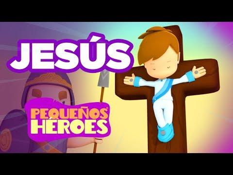 Historias de la Biblia para niños - Jesús – Pequeños Héroes