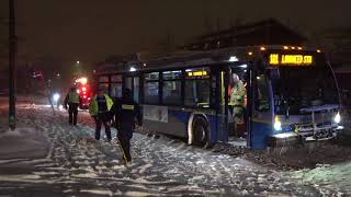 Burnaby Transit bus accident