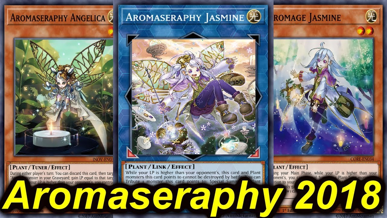 【YGOPRO】AROMAGE DECK 2018 - YouTube