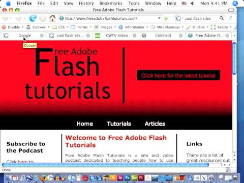 what is a flash page