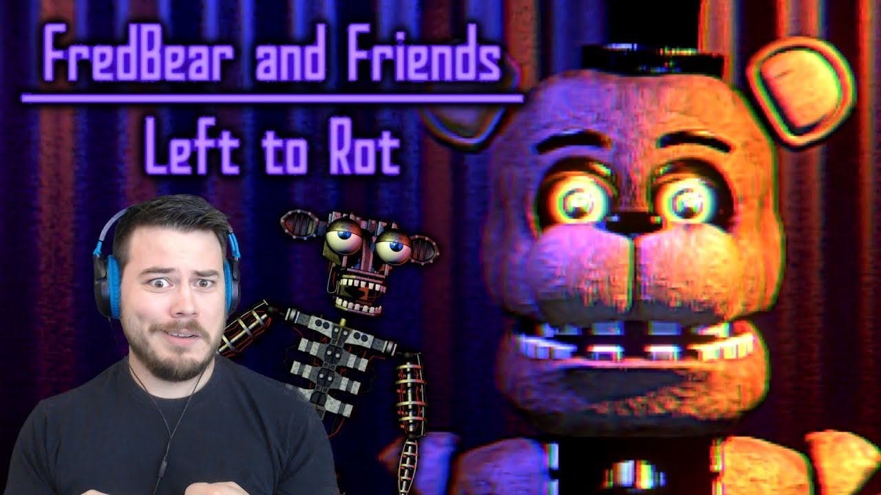 These Animatronics Are Still Active?! | Fredbear And Friends: Left To Rot   Thegamesalmon