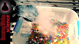 Orbeez and Liquid Nitrogen VS. iPhone