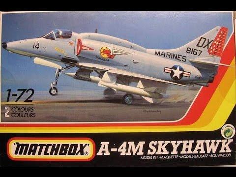 """Matchbox 1/72 A-4M Skyhawk- """"Full Build"""" and """"Final Reveal"""" (11.20.16)"""