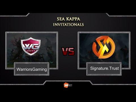 SiG.Trust vs WG.Unity part1 (bo1) [SEA Kappa Invitationals] 12.03.2016