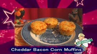 Cheddar Bacon Corn Muffins