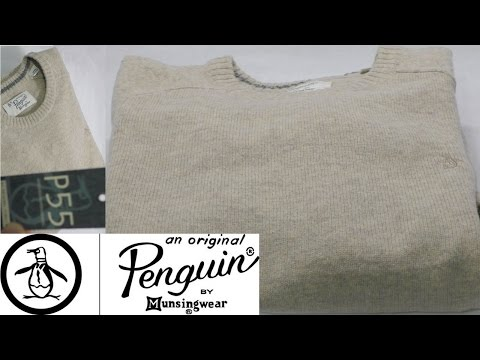 ORIGINAL PENGUIN - Lambswool Sweater Review - Kelp (Beige/Camel) - Best bang for your buck