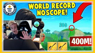 Ninja best clips compilation (MUST WATCH) 400 meter snipe