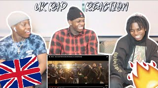 Americans/Africans React to UK RAP/DRILL music FT. DAVE, NSG, RUSS, & MORE