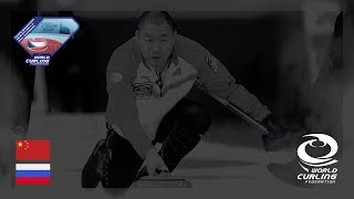 China v Russia - Men - Olympic Qualification Event 2017