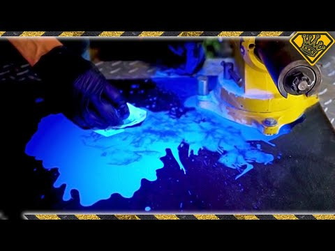 Cool Tricks with UV INK