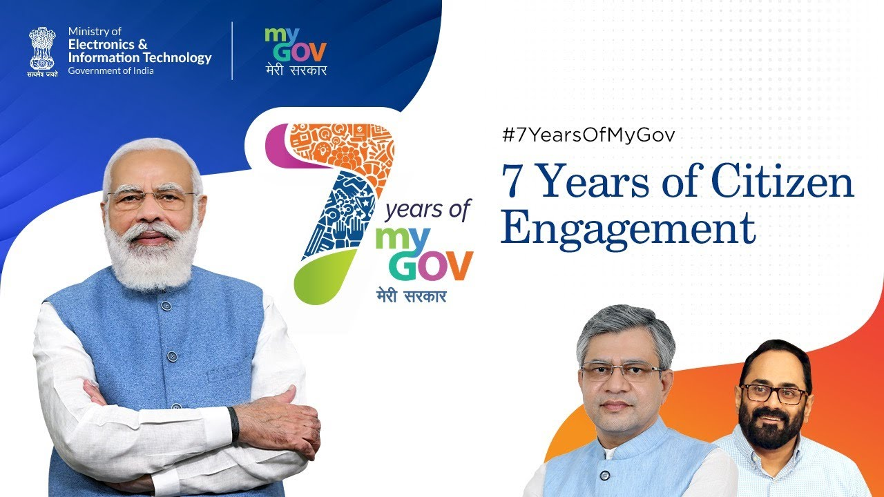 PM applauds volunteers and contributors of MyGov on completion of 7 Years of MyGov