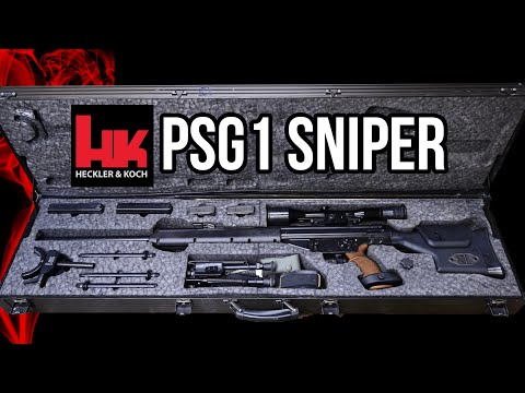 H&K PSG1 Sniper Rifle Overview