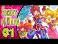 Secret of Mana Walkthrough Part 1 (PS4, Vita) English ~ Seiken Densetsu 2 Remake