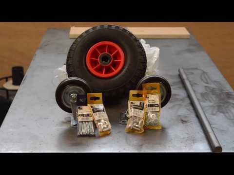 Comment faire un chariot de soudure   How to make a welding cart