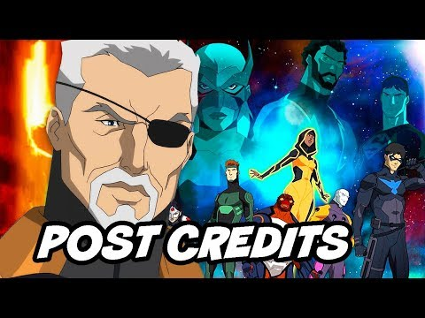 Young Justice Season 3 Finale Ending - Post Credit Scene Easter Eggs Breakdown