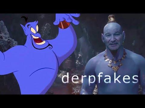 Deepfakes | Robin Williams as The Genie