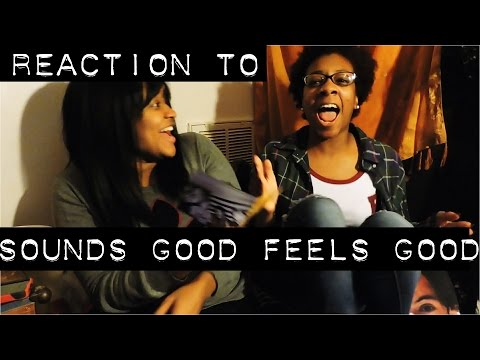 REACTION TO SOUNDS GOOD FEELS GOOD (DELUXE) | 5 SECONDS OF SUMMER