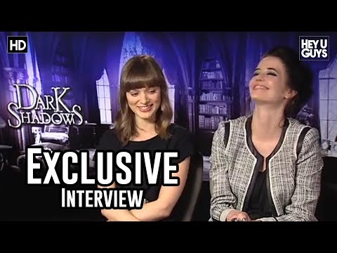 Eva Green & Bella Heathcote Exclusive  Tim Burton's Dark Shadows