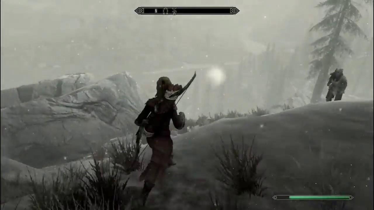 Skyrim Treasure Map IV location hunting