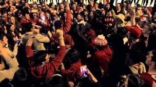 State Street INSANITY - Wisconsin Badgers goes to the Final Four!