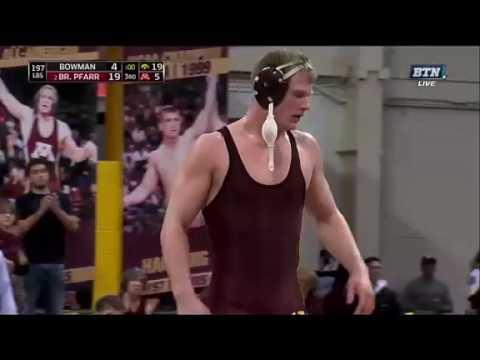 iowa vs minnesota 2017 college wrestling dual part 2