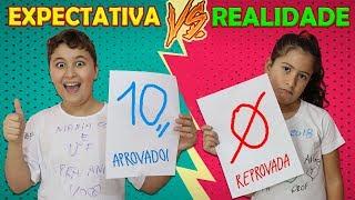 ÚLTIMO DIA DE AULA - EXPECTATIVA VS REALIDADE COM MARIA CLARA E JP