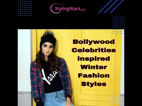 Bollywood celebrities winter fashion styles