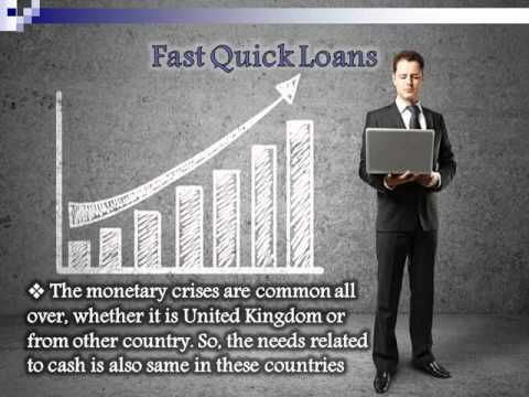 Fast Quick Loans: Wonderful Resource OF Extra Fund IN Dire Straits