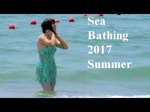 Sea bathing after Six years