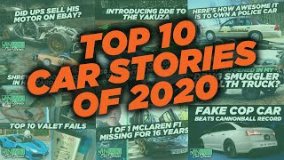 Top 10 Car Stories of 2020