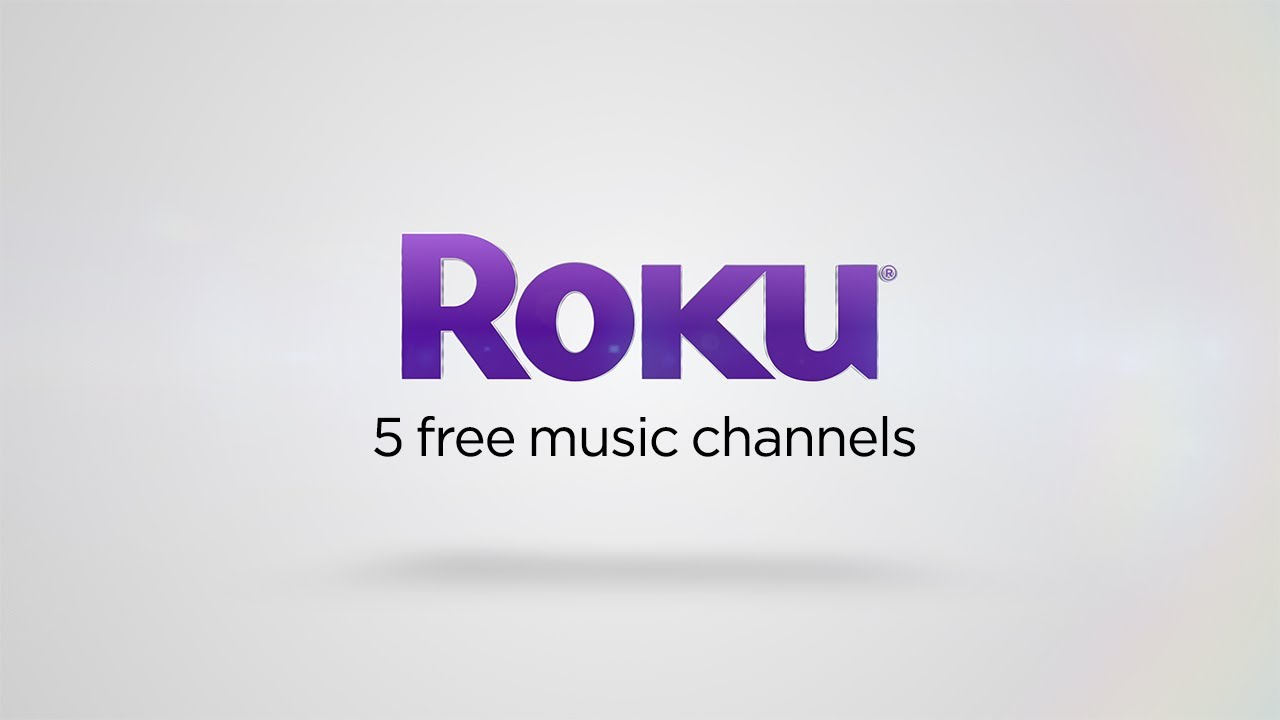 5 free music channels on the Roku platform