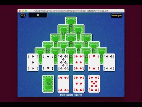 Pyramide Kartenspiel