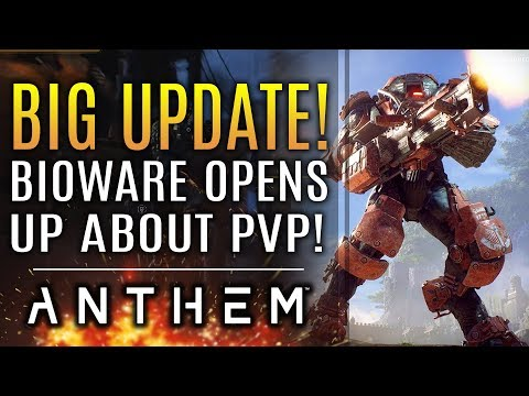Anthem - NEW! Bioware Opens Up About PVP! Here's What They Would Do! More on DLC, Updates and More!