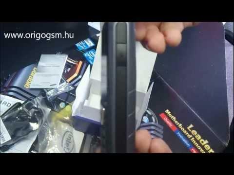 Samsung E2370 kártyafüggetlen mobiltelefon kicsomagolás (Unboxing) - www.origogsm.hu