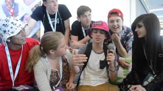 Younow Sensations - Zach, Eugenia, Timmy, Vince, Danny, And Nathan Interview At