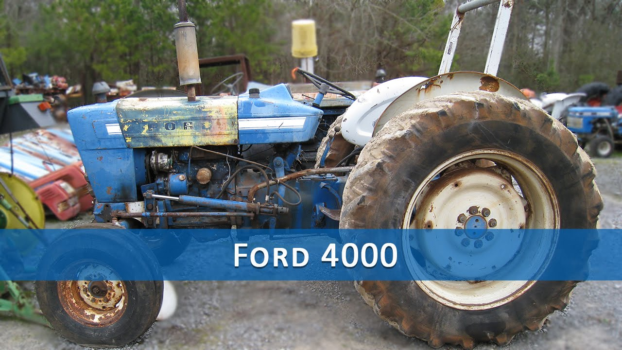 Ford 4000 Tractor Parts : Ford tractor parts youtube