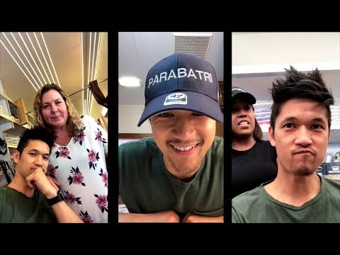 Harry Shum Jr. Instagram Live and Stories  August 3rd, 2018