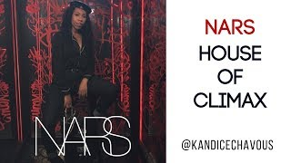 NARS Climax Mascara - House of Climax Pop Up Experience