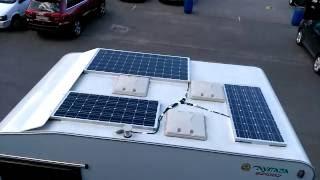 Солнечные батареи для автокемпера(Солнечная электростанция для автокемпера. Мощность солнечных батарей 400 ватт, мощность инвертора 2,4 кВт,..., 2016-08-23T17:35:16.000Z)