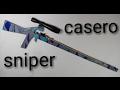 como hacer rifle de canicas casero (parte 1)🔴(How to make homemade rifle)