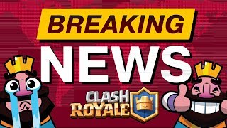 "NEWS: Clan Wars Delayed + New Info, 1 Million Cards Won, CRL China ""Problem"""
