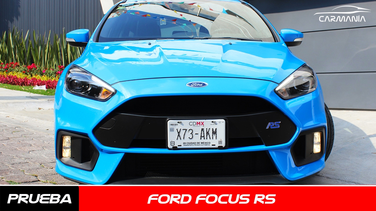 Focus rs a prueba carman a