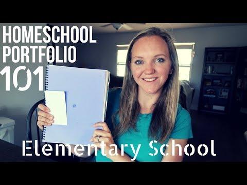 Homeschool Portfolio 101    Elementary School