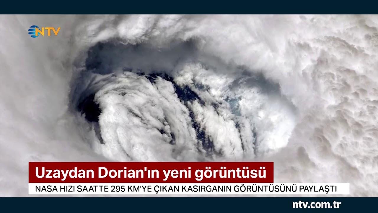 İşte Dorian Kasırgası'nın gözü