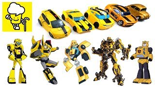Different Bumblebee Transformer robot toys ランスフォーマー 變形金剛 robots in disguise