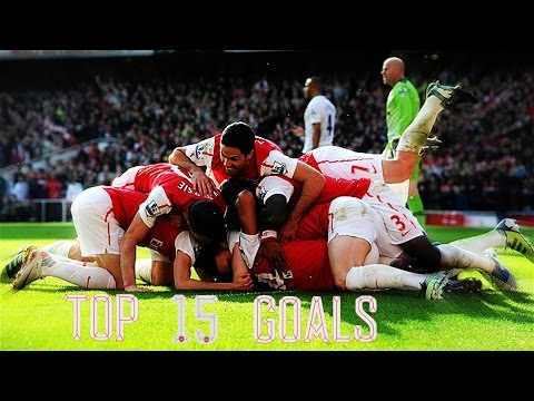 Arsenal FC  - Top 15 Goals vs Tottenham Hotspur [HD]