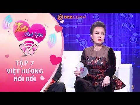 Việt Hương bối rối khi nhắc về gia tài ở quê của chàng nhạc sĩ Quốc Huy I Tần Số Tình Yêu tập 7