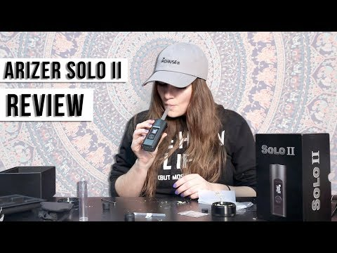 Big Rips from a Dry Herb Vaporizer: Arizer Solo II Review w/ Macdizzle420