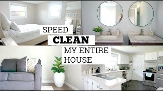 NEW! ENTIRE HOUSE CLEANING ROUTINE